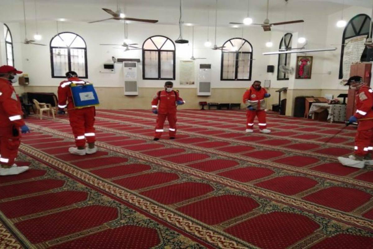 شركات تنظيف المساجد في الرياض
